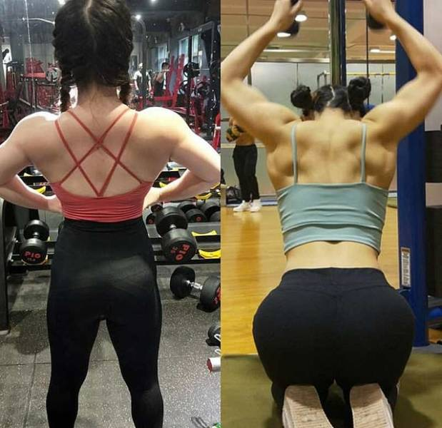 She's Both A Bodybuilder And A Doll!