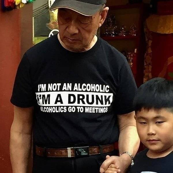 You Are Way Too Drunk…