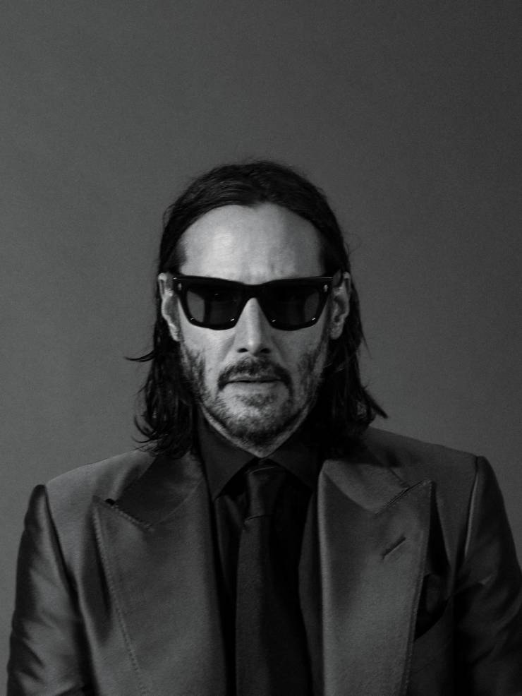 Keanu Reeves Appears In A New Photoshoot By GQ