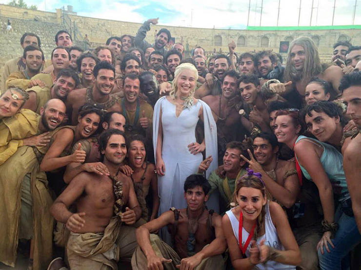 """The Sincerest Shots From Behind The Scenes Of """"Game Of Thrones"""""""