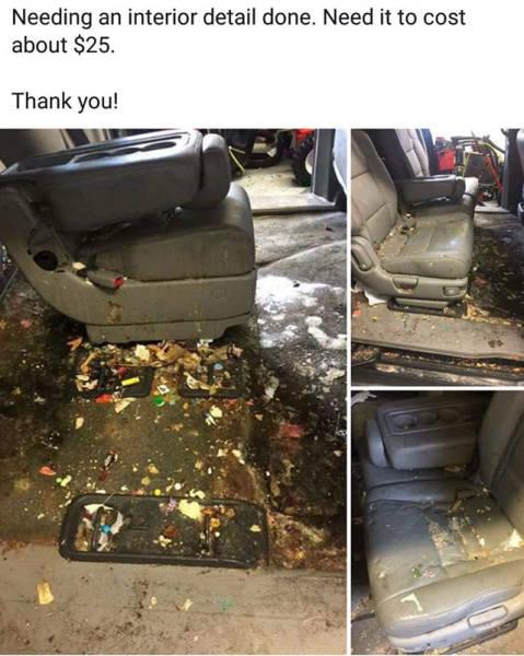 Trash… Trash Everywhere