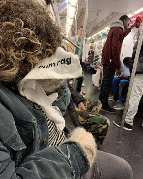 On The Subway, You Can Find Anything