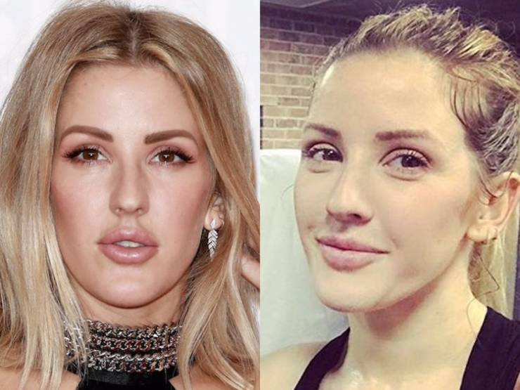 Singers Look So Strange Without Makeup