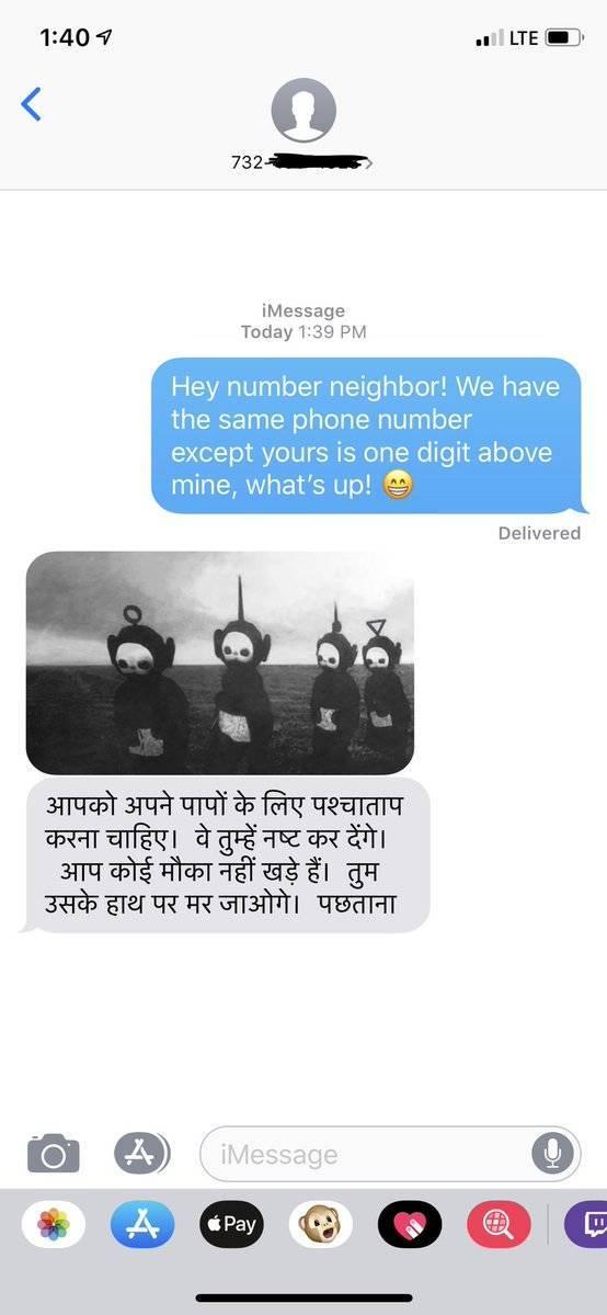 Hi, Number Neighbor!
