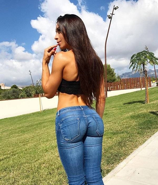 Those Jeans Are Barely Holding!