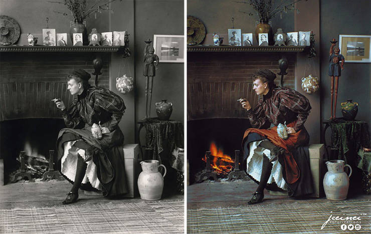 Artist Colorizes Black And White Photos To Add More Life To Historical Photos
