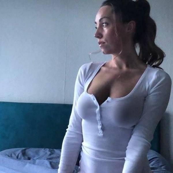 White Shirts Always Look Hot