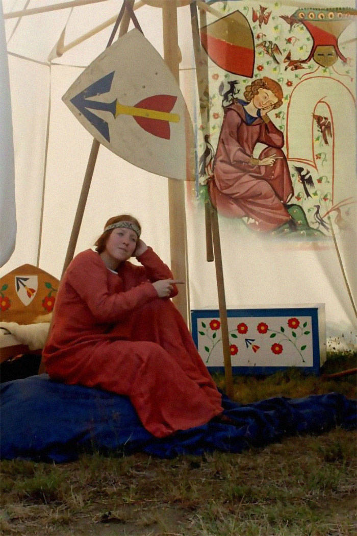 Medieval Painting Recreations Look Pretty Weird, To Be Honest…