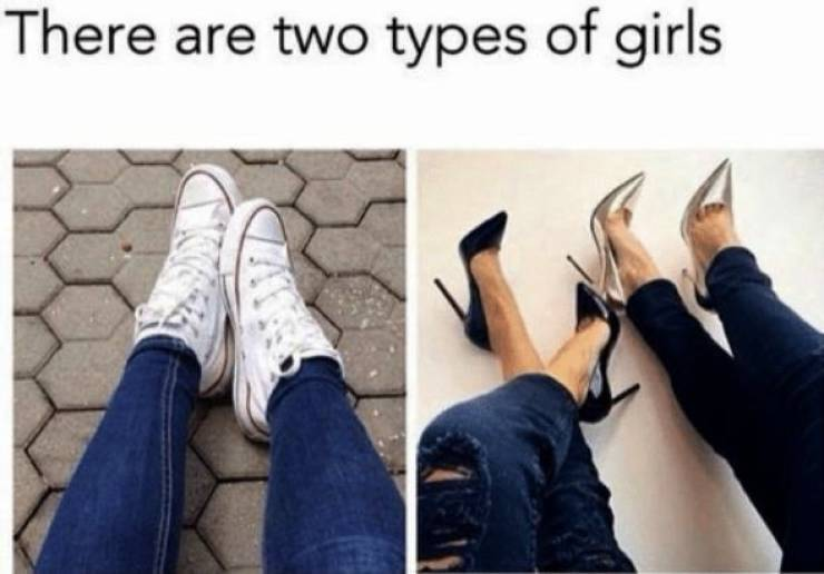 There's No Third Type Of Girls…