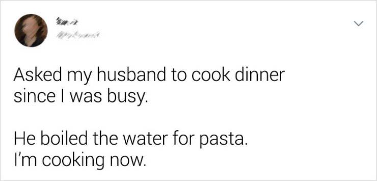 Men Are Simple Creatures