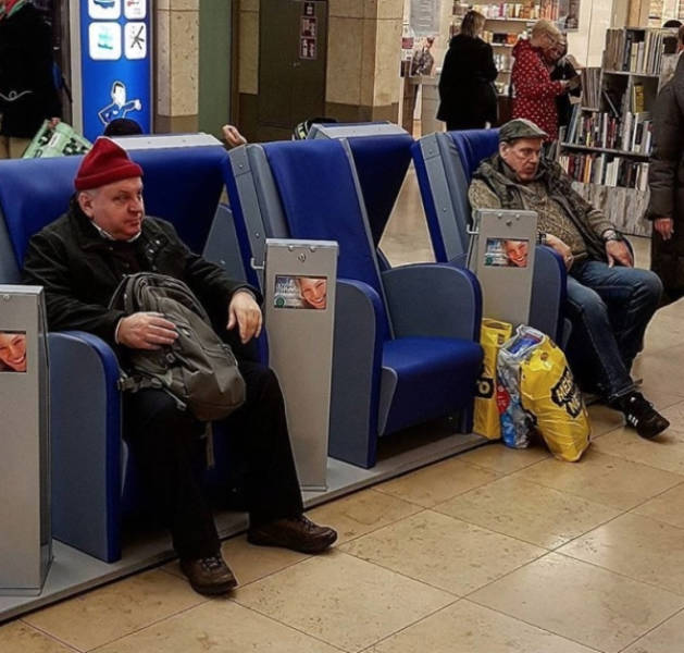 Pay Respects To These Men Waiting For Their Shopping Women
