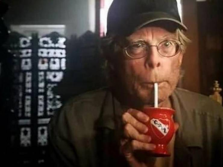 Stephen King Is Kinda Creepy, Especially In Movies
