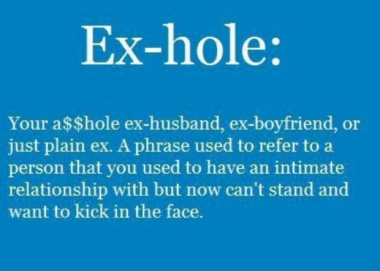 And How Was Your Ex?