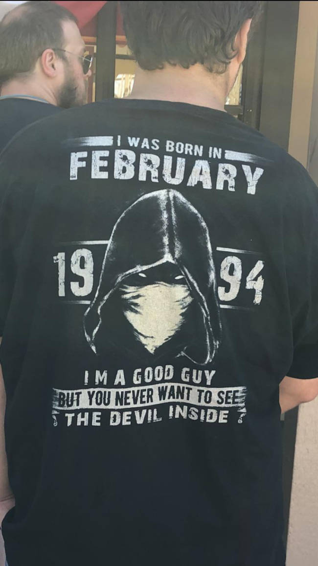 """These """"Bada##"""" Shirts Aren't Going To Scare Anyone, You Know…"""