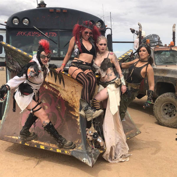 "Welcome To ""Wasteland"", Where Everything Is From ""Mad Max"""