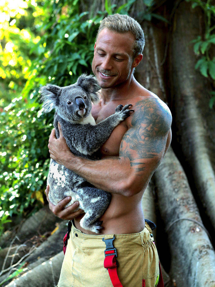 Girls, Here's Your Daily Dose Of Australian Firefighters!