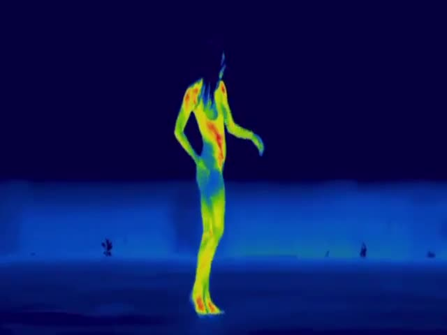 A Sexy Dance Through A Thermographic Camera