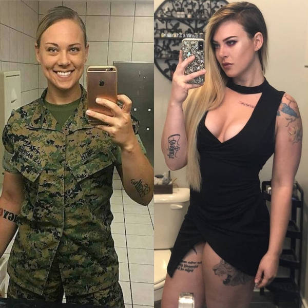 Uniform Only Makes Them Sexier