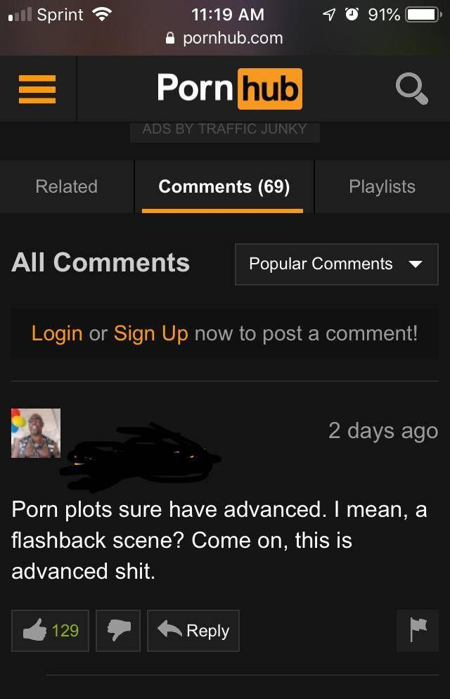 Pornhub Comment Section Is… Well… You'll See