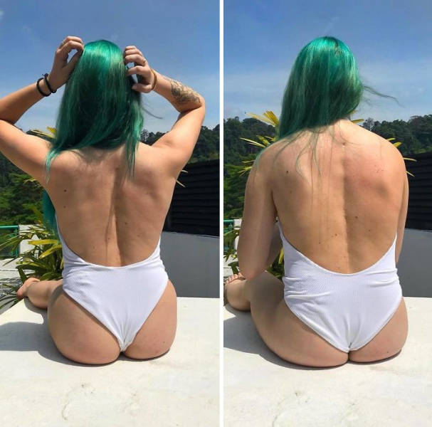 Health Blogger Shows The Reality Behind Instagram Photos