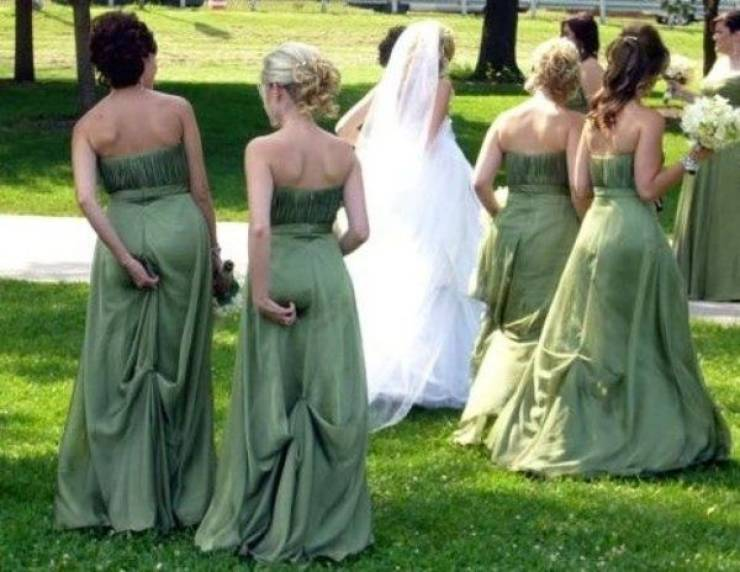 Something Went Wrong With These Weddings…