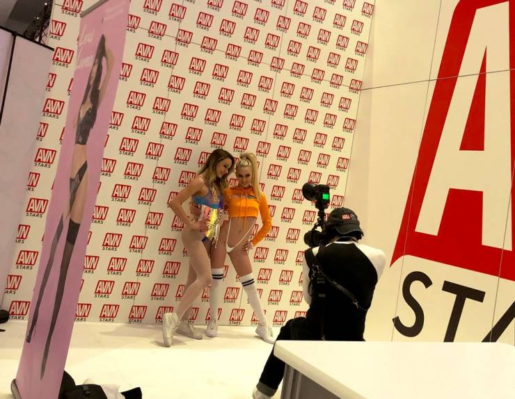 Spiciest Photos From AVN Adult Entertainment Expo 2020
