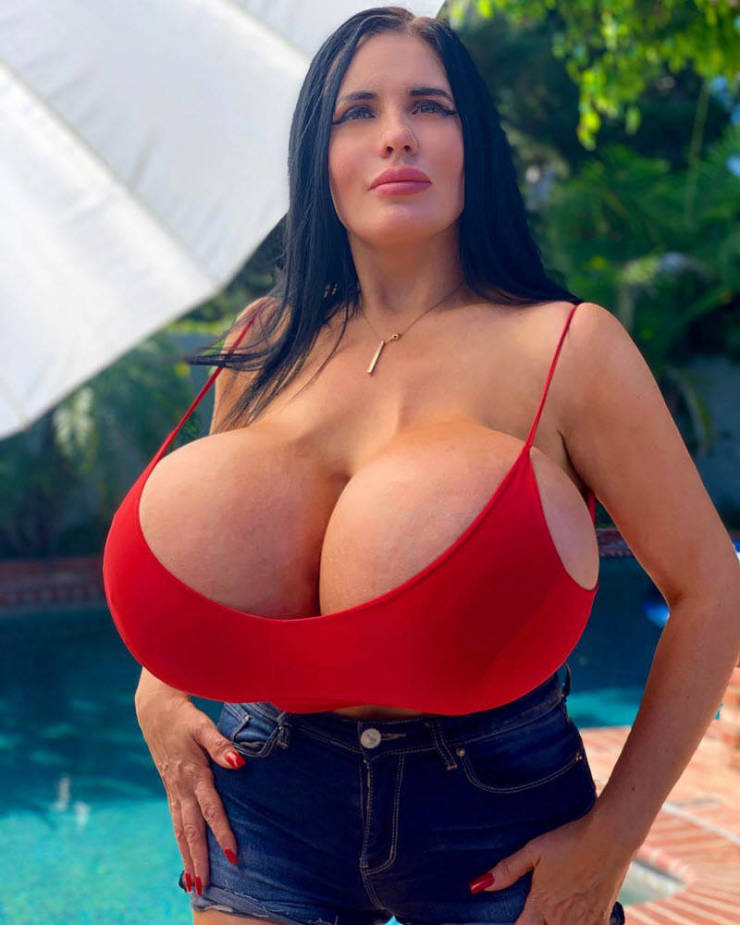 This Woman Just Can't Stop Enlarging Her Breasts…