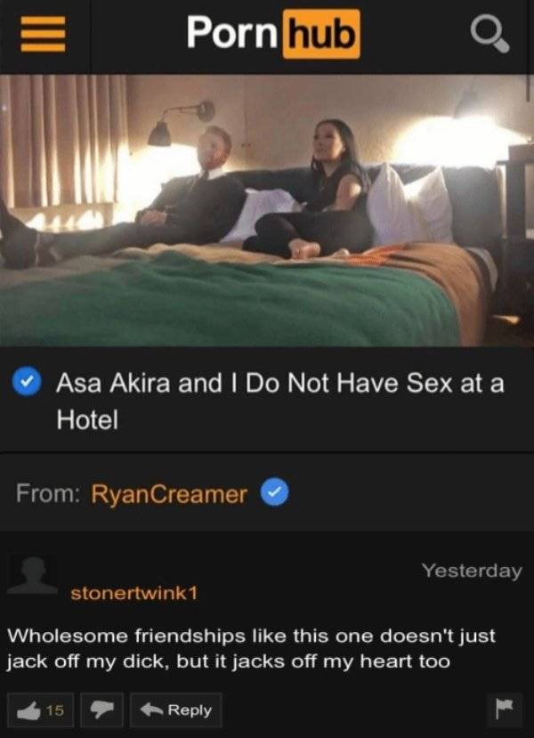 Pornhub's Comment Section Is Only For The Strong-Willed