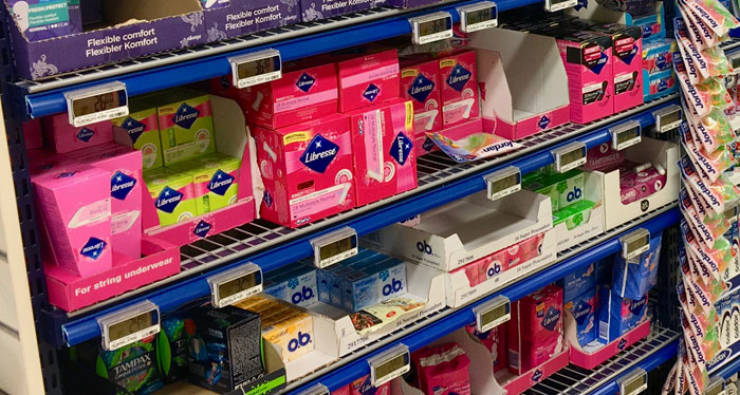 Scotland Wants To Make Feminine Hygiene Products Free
