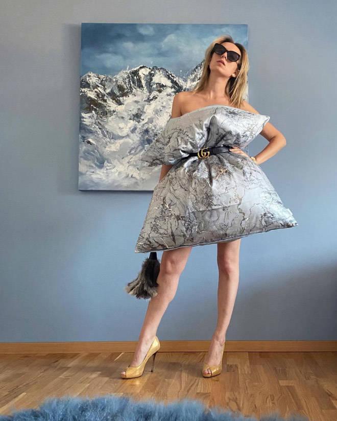 Flaunt Those Pillow Dresses!