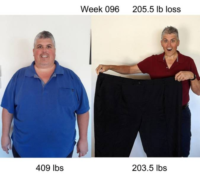 Men Who Lost Most Of Their Weight And Feel Great About Themselves
