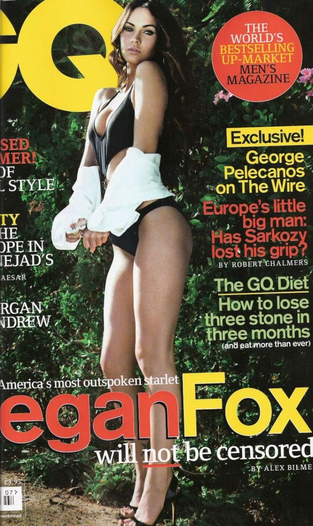 Megan Fox in GQ magazine (12 pics)