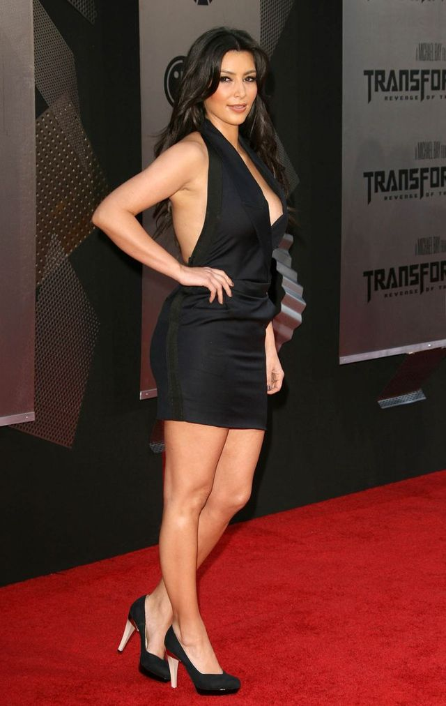 Kim Kardashian at the premiere of Transformers: Revenge of the Fallen (9 pics)