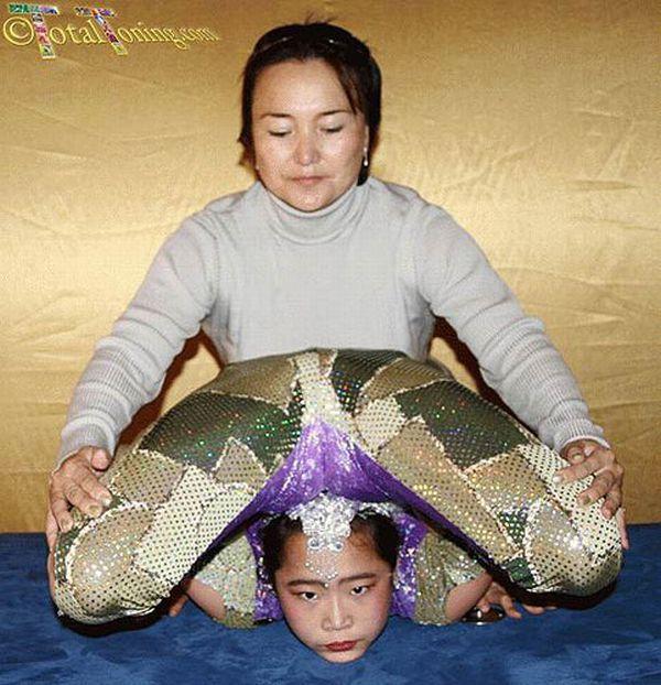 Future Chinese gymnasts (38 pics)
