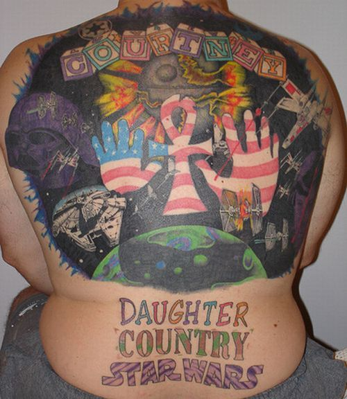 Series of the most WTF tattoos ;)  (60 photos)