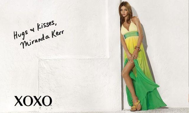Miranda Kerr in the XOXO Spring/Summer 2009 ad campaign (8 pics)