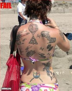 19 girls with tattoos they should have avoided to do (19 pics)