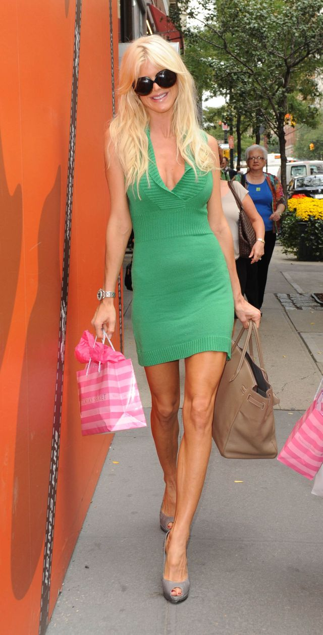 Watch out! Here's Victoria Silvstedt (5 pics)