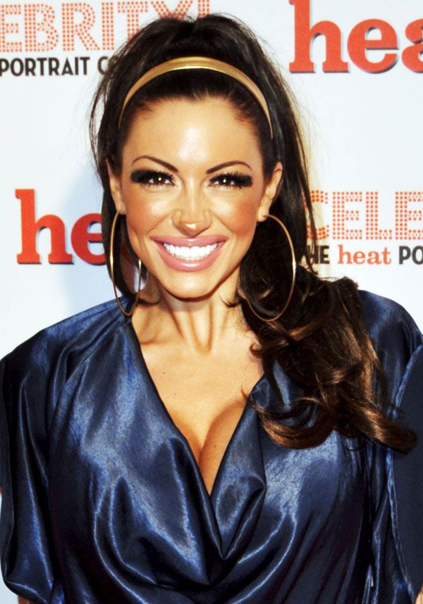 Jodie Marsh's Nose Looks Like a Plastic One (4 pics)