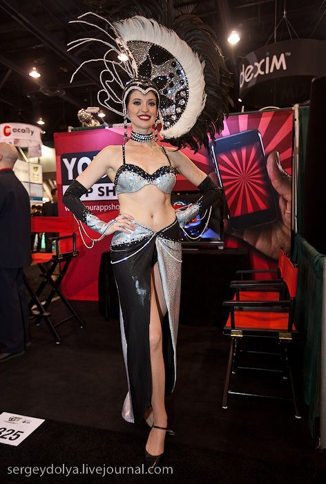 Girls from Las Vegas Consumer Electronic Show (42 pics)