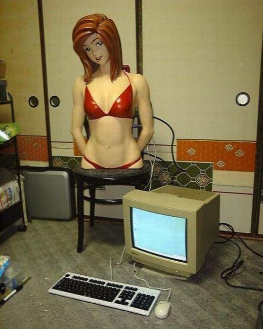 Sexy Girl Bikini PC Case Mod (19 pics)