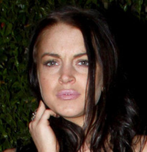 Lindsay Hits Rock Bottom Again (6 pics)