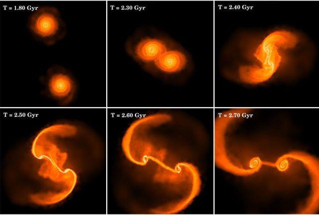 Amazing Galaxy Mergers (3 pics)