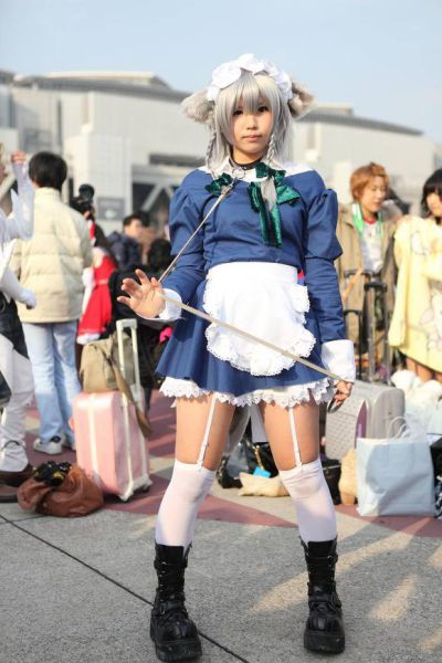 Sexy Cosplay Girls from Comiket