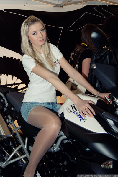 Hot Russian Babes at Motor Park 2011