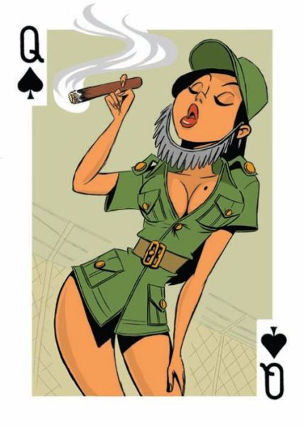 Playing Cards That Are Somewhat Risque