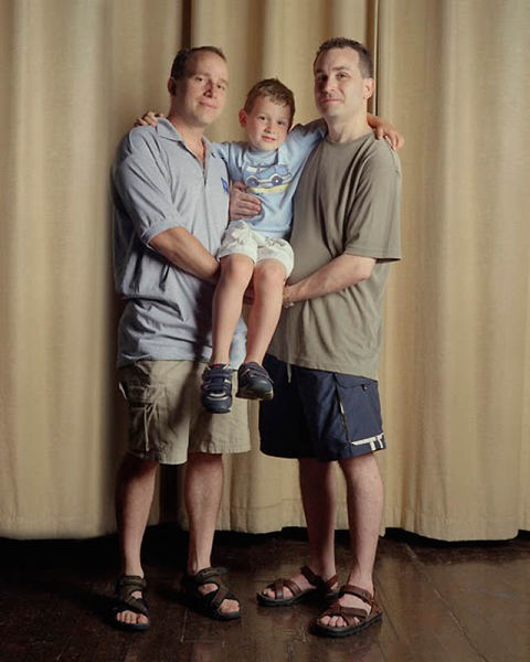 Gay Couples with Their Children
