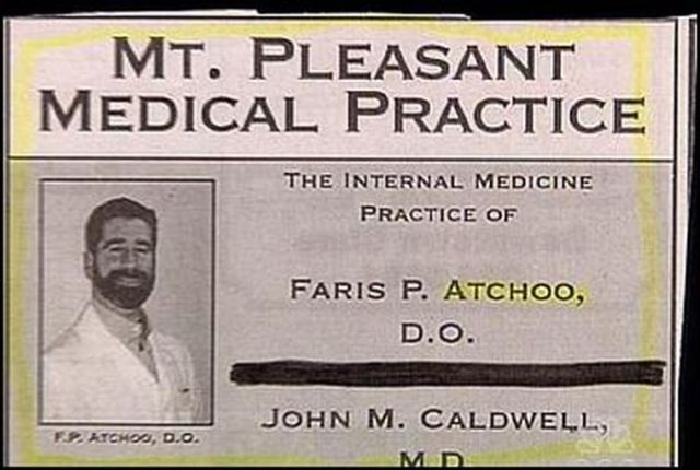 Most Unfortunate Doctors