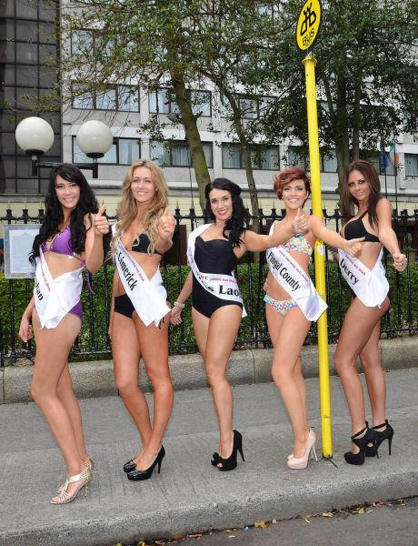 Sexy Irish Girls Competing for Miss Ireland