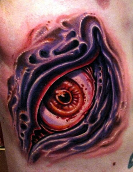 Creepy Eyeball Tattoos